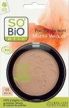 SO BiO organiczny puder w kompakcie Średni Beż 02 10 g