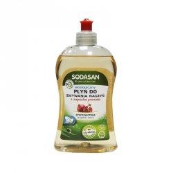 Sodasan - Płyn do mycia naczyń o zapachu owoców GRANATU -500ml