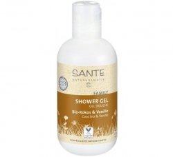 Sante FAMILY Żel pod prysznic kokos/wanila 200ml