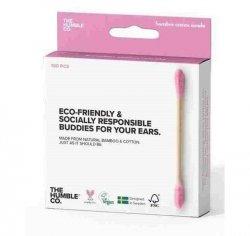 Humble Brush Patyczki higieniczne, bambusowe rózowe 100 szt.