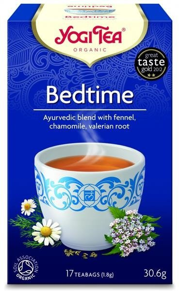 YOGI TEA®  Herbata SPOKOJNY SEN z koprem włoskim, rumiankiem i walerianą (Bedtime)