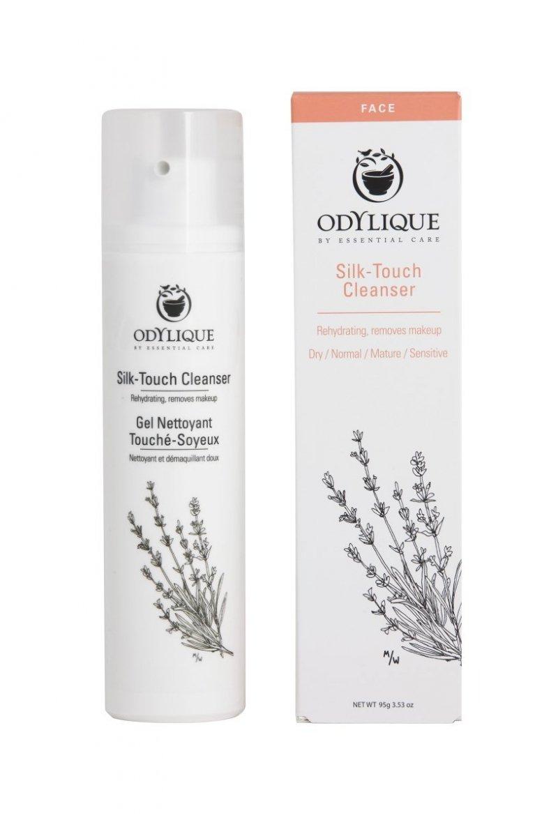 Odylique by Essential Care Jedwabiste mleczko do oczyszczania twarzy (Silk-Touch Cleanser) 20 g