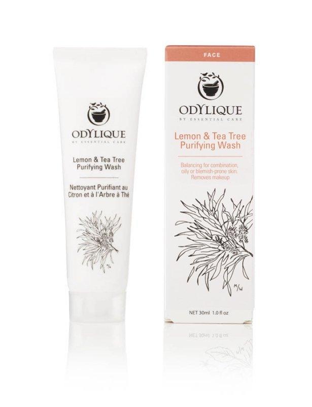 Odylique by Essential Care Żel do mycia twarzy Cytryna i Drzewo Herbaciane 30 ml.