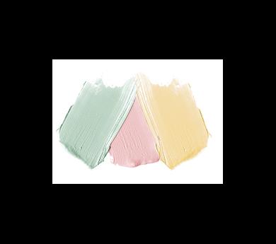 Sante Naturkosmetik Korektor w kompakcie Trzy kolory 3x2g