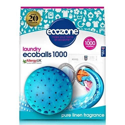 Ecozone Ecoballs kule piorące na 1000 prań, PURE LINEN, świeży zapach