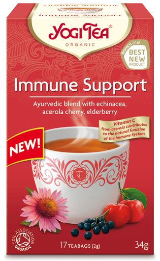 YOGI TEA Ajurwedyjska herbata NA ODPORNOŚĆ (Immune Support)