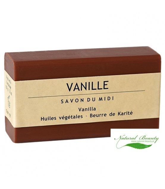SAVON DU MIDI Prowansalskie mydło z masłem karite VANILLA/wanilia