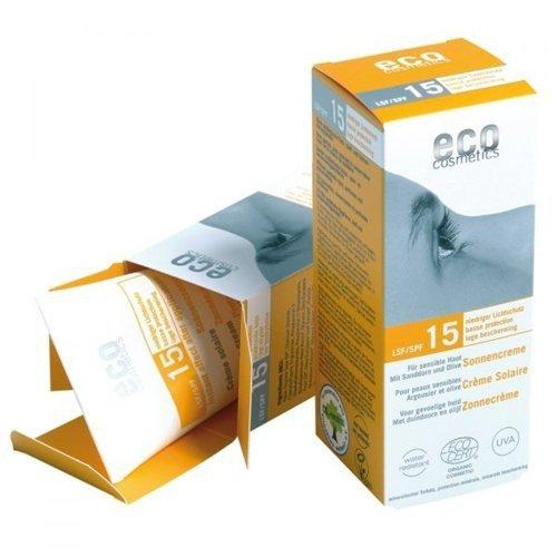 eco cosmetics krem na słońce faktor SPF 15