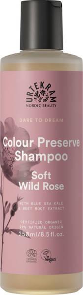 urtekram Szampon do włosów farbowanych DZIKA RÓŻA 250 ml