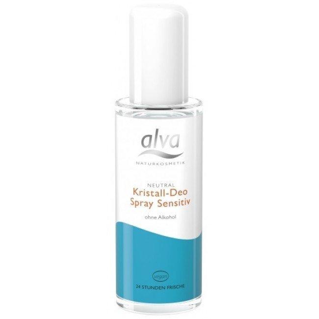 """Alva Dezodorant z kryształu Sensitive"""" w sprayu 75 ml"""