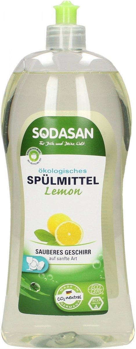 Sodasan Płyn do zmywania naczyń o zapachu cytrynowym 1l