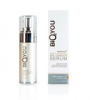 BIO2YOU serum przeciwzmarszczkowe pod oczy z kolagenem, kwasem hialuronowym, aloesem i rokitnikiem 30 ml