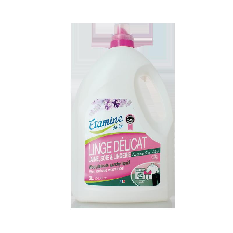 EDL Etamine Du Lys płyn do prania delikatnych tkanin i wełny organiczna lawenda 3l