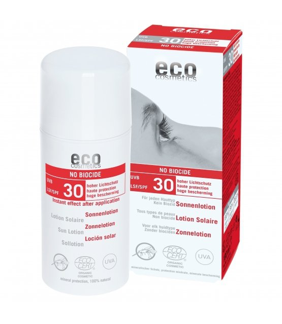 eco cosmetics Emulsja na słońce LSF/SPF 30 SŁOŃCE I KOMARY 100 ml.