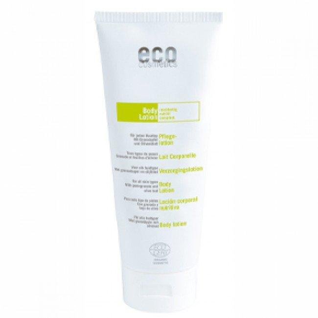 Eco Cosmetics Balsam pielęgnacyjny do ciała z liściem oliwnym i owocem granatu, 200 ml