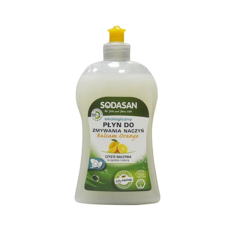 Sodasan Ekologiczny balsam o zapachu pamarańczy do mycia naczyń - 500ml