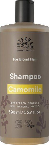 Urtekram Szampon z rumiankiem do włosów blond 500 ml
