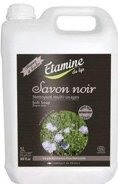 EDL Etamine Du Lys Savon Noir skoncentrowane Czarne Mydło do mycia i pielegnacji wszystkich powierzchni 5l