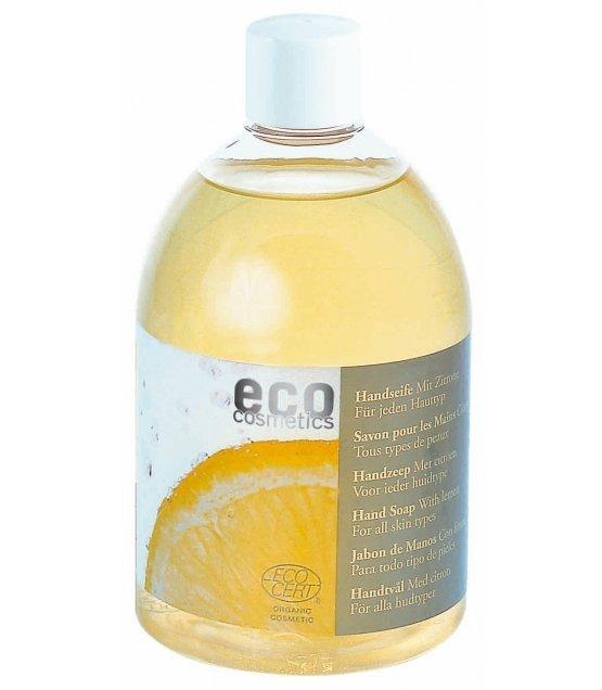 Eco cosmetics Mydło w płynie Z CYTRYNĄ 500 ml.