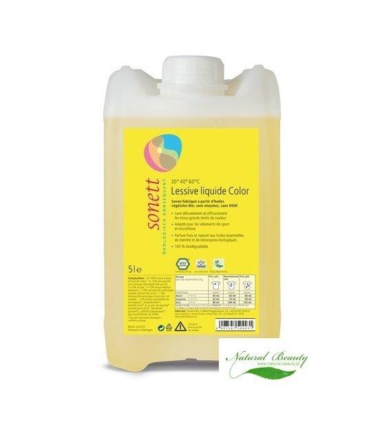 Sonett - Płyn do prania KOLOR 5l
