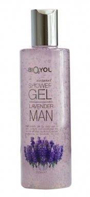 BIO2YOU Man nawilżający męski żel pod prysznic z gliceryną i rokitnikiem Lawenda 250 ml