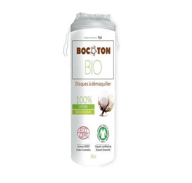 Bocoton - Ekologiczne płatki kosmetyczne - okrągłe 80szt