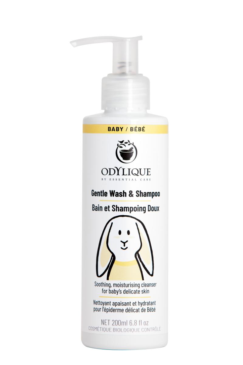 Odylique by Essential Care organiczny delikatny żel do mycia ciała i włosów i do kąpieli dla niemowląt i dzieci 200 ml