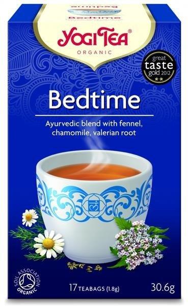 YOGI TEA Herbata SPOKOJNY SEN z koprem włoskim, rumiankiem i walerianą (Bedtime)