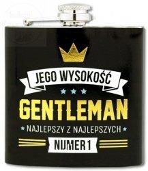 Piersiówka Royal Jego wysyokość  Gentleman 177ml