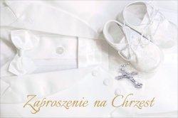 Zaproszenie na Chrzest Święty - 1 szt