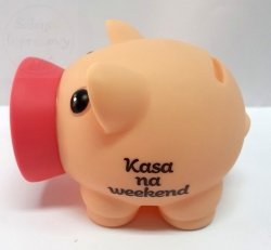 Skarbonka PIGGY - Kasa na weekend