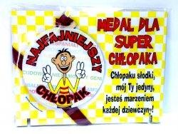 Medal podstawka dla  Najfajnieszego Chłopaka