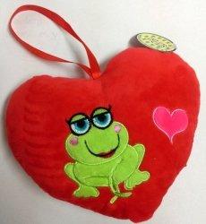 Serce czerwone zawieszka - Walentynki