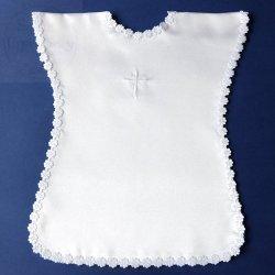 Koszulka Chrzcielna biała -1szt