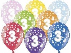 Balony 14 cali mix kolor metalik 3