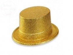 Cylinder  złoty 12 cm - 1szt
