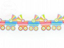 Girlanda bibułowa wózeczki 14x300 cm