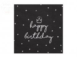 Serwetki 3 warstw. 33x33cm Happy Birthday 20 szt