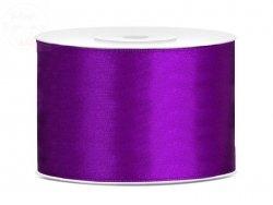 Tasiemka satynowa purpura 50mm / 25 m