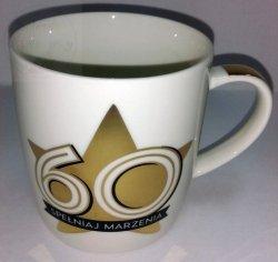 Kubek Spełniaj Marzenia 60 urodziny