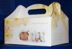 Pudełko na ciasto Chrzest, Roczek CH01 - 1szt