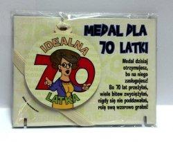 Medal podstawka dla  70-latki