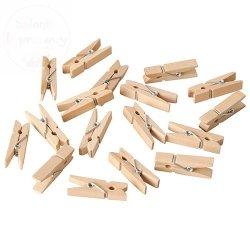 Klamerki drewniane 1op