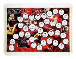 Gra deska + kieliszki SEXI GRA