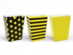 Pudełko na popcorn  Pszcółka 7,5x7,5x12,5cm 1szt