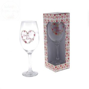 Kieliszek  do wina Kocham Cię MAMO