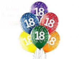 Balony 18-te urodziny 12 cali