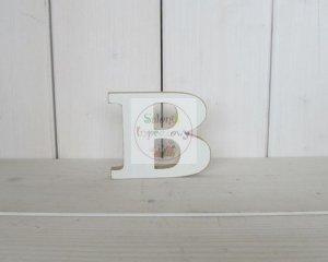 Litera drewniana wys. 18 cm B 1szt