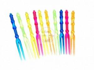 Wykałaczki plastikowe  Widelczyki 11 cm - 10szt