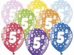 Balony 14 cali mix kolor metalik 5